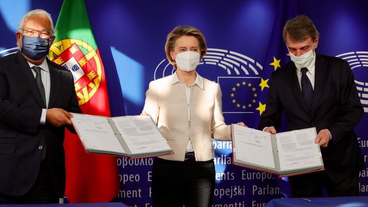 Decyzja UE. Ponad 670 mld euro na odbudowę gospodarczą po pandemii