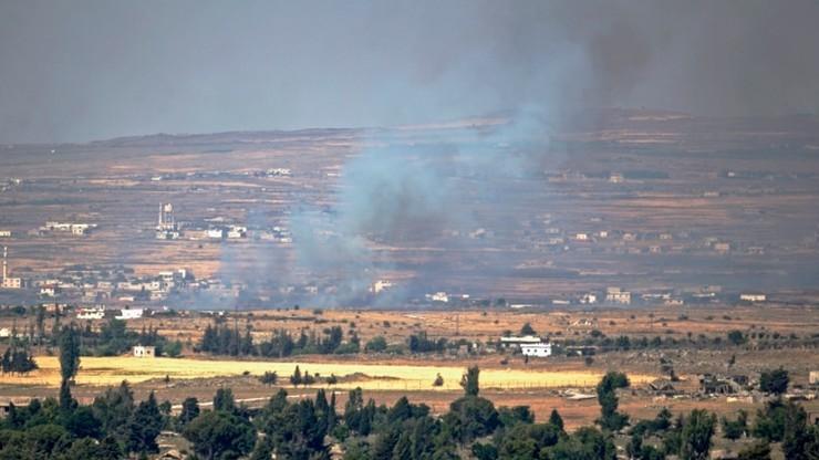 Syryjscy rebelianci twierdzą, że zestrzelili samolot armii rządowej