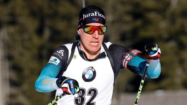 PŚ w biathlonie: Quentin Fillon Maillet najlepszy w sprincie w Novym Mescie