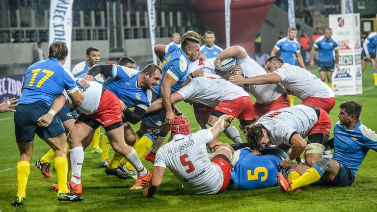 Rugby: Polacy gromią Ukrainę