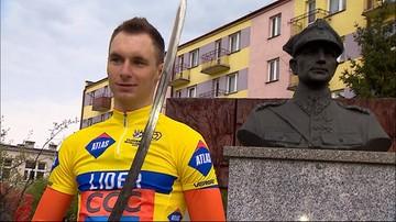 Eryk Latoń wygrał wyścig kolarski szlakiem walk majora Hubala