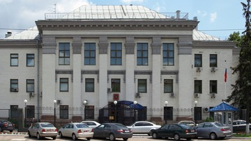 Ukraina uznała dyplomatę z ambasady Rosji w Kijowie za persona non grata