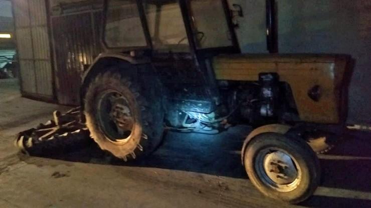 Pijany Mołdawianin ukradł traktor na Opolszczyźnie. Pojechał nim po alkohol