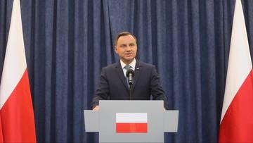 Prezydent Andrzej Duda modlił się w niedzielę na Jasnej Górze