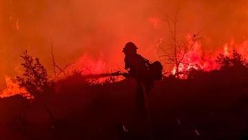 """Tysiące strażaków walczy z ekstremalnym pożarem. """"To jest przerażające"""""""