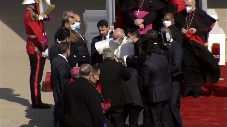 Historyczna pielgrzymka papieża. Franciszek wylądował w Iraku
