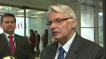 Waszczykowski o warunkach Trumpa ws. NATO: w przypadku Polski nie będzie wahań