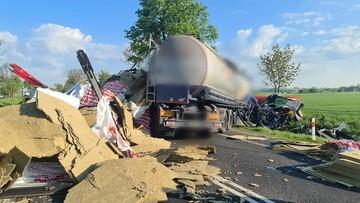 W ciężarówce pękła opona. Tragiczny wypadek na Mazowszu
