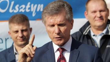 Kandydat na prezydenta Olsztyna o procesie o gwałt: jestem ponad wszelką wątpliwość niewinny