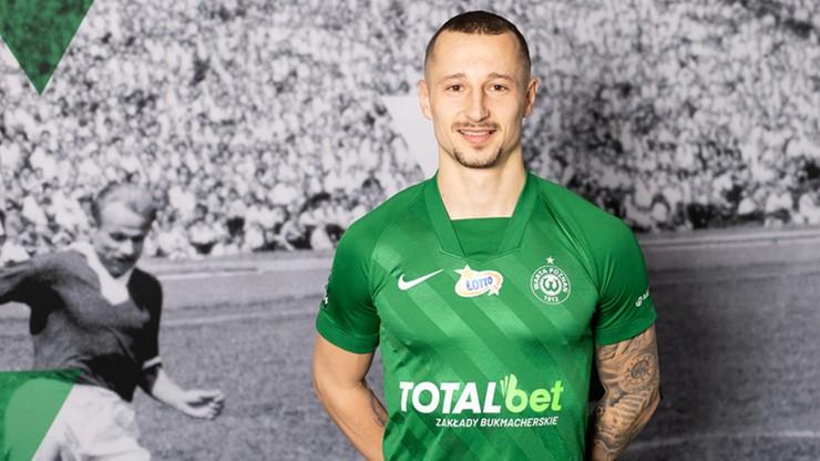 Adam Zrelak piłkarzem Warty Poznań