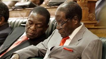 Prezydent Mugabe usunięty z funkcji przewodniczącego partii. Kolejny krok: impeachment