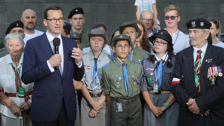 Morawiecki: powstańcy to bohaterowie nie tylko Polski, to są bohaterowie świata