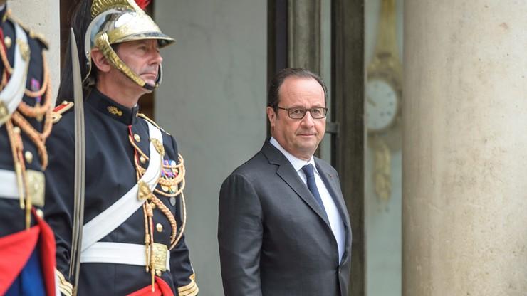Hollande o tureckich działaniach w Syrii: grożą zaognieniem sytuacji