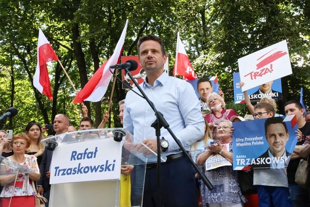 Trzaskowski: zawetuję każdą decyzję rządu PiS uderzającą w polskie sądy