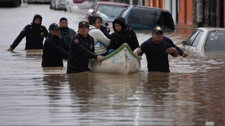 Huragan Eta w Meksyku. Powodzie i lawiny błotne, nie żyje 20 osób