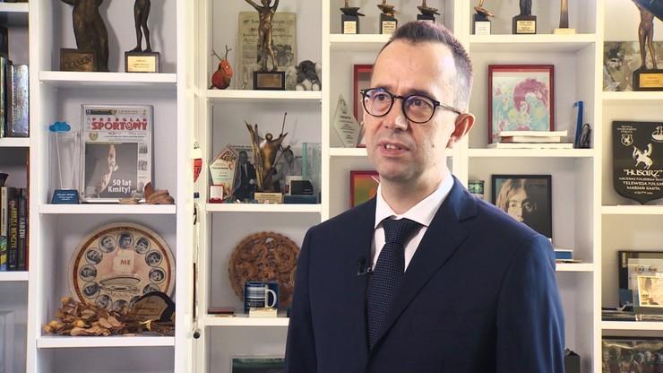 20-lecie Polsatu Sport - Piotr Pykel: Sportowe Ministerstwo Spraw Zagranicznych