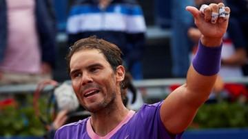 ATP w Barcelonie: Rafael Nadal o krok od 12. tytułu