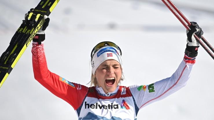 Therese Johaug z czternastym złotym medalem mistrzostw świata!