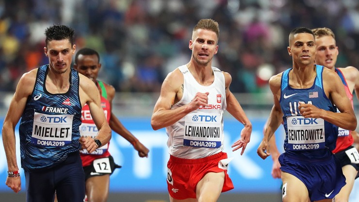 MŚ Doha 2019: Lewandowski i Tomala na starcie