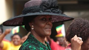 Policja poszukuje żony prezydenta Zimbabwe. Miała pobić modelkę