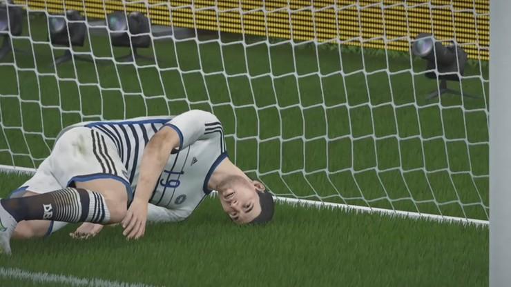 FIFA 18: Bramkarz kopnął rywala, zderzył się z kolegą i... wyjął piłkę z siatki (WIDEO)