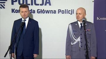 Nadinspektor Jarosław Szymczyk nowym komendantem głównym policji