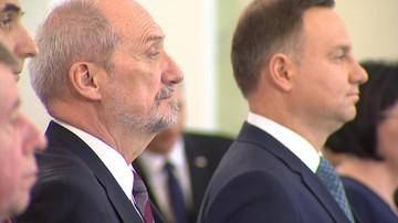 Macierewicz: szef MON nie powinien publicznie komentować tego typu decyzji prezydenta
