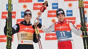 MŚ Oberstdorf 2021: Norweg ze złotym medalem w kombinacji norweskiej