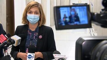 Posłanka zawiadamia prokuraturę ws. użycia wobec niej gazu przez policjanta