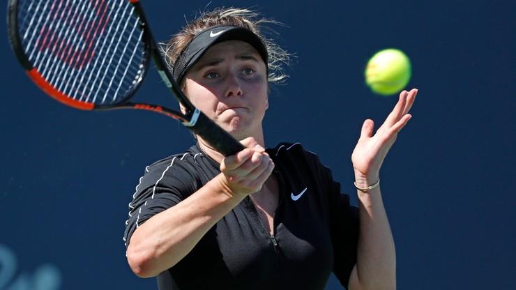 WTA w San Jose: Odpadła najwyżej rozstawiona Switolina