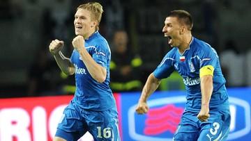 Liga Europy: Lech oszukał przeznaczenie w Turynie. Hat-trick Rudnevsa (WIDEO)