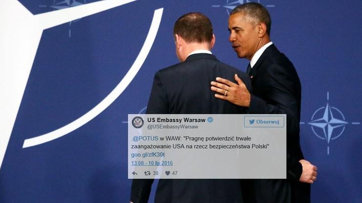 Amerykański ambasador publikuje treść całego wystąpienia Obamy