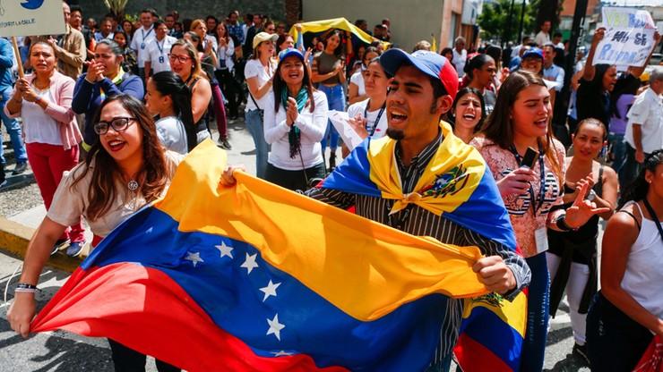 """Trump o Wenezueli: """"Rozpoczęła się walka o wolność"""""""