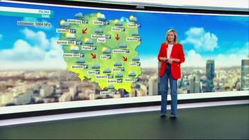 Prognoza pogody - poniedziałek, 20 września - rano