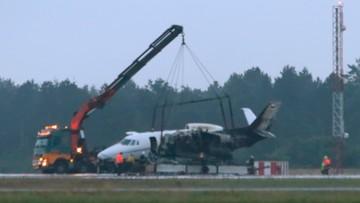 Samolot, którym lata ekipa piosenkarki Pink, rozbił się w Danii
