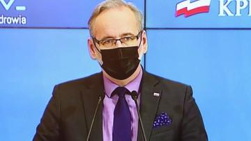 Sprawa respiratorów. Minister podał ile pieniędzy odzyskano