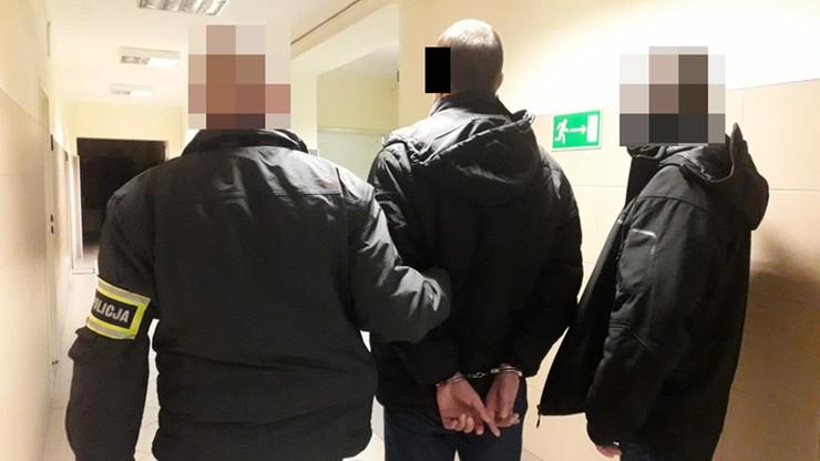 Zaatakował nożem w hostelu w Warszawie. Trzy dni ukrywał się przed policją