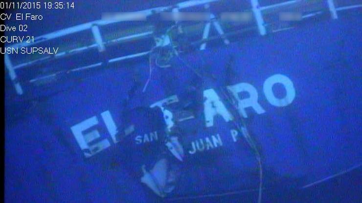 """Katastrofa statku """"El Faro"""". Wydobyto """"czarną skrzynkę"""""""