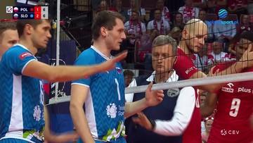 Awantura w meczu Polska - Słowenia! Spięcie pod siatką