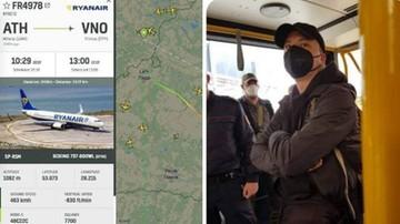 Białoruś zmusiła samolot Ryanair do lądowania w Mińsku, by zatrzymać opozycjonistę