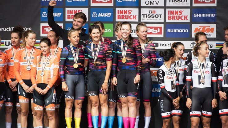 MŚ w kolarstwie: Złoty medal dla kobiecej ekipy Canyon-SRAM