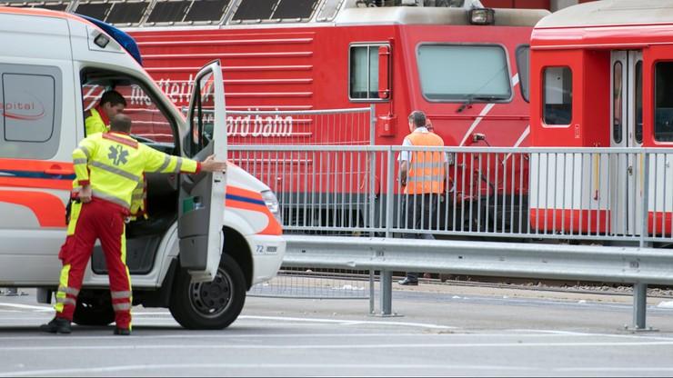 W Szwajcarii zderzyły się pociągi. Rannych zostało około 30 osób