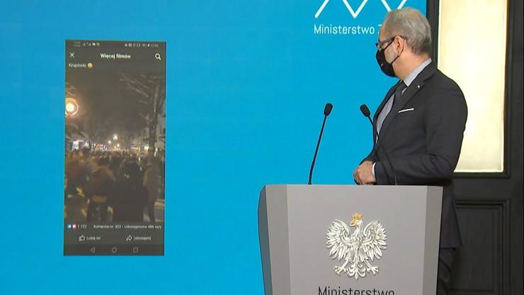 Niedzielski pokazał nagranie z Zakopanego: nie chcę, żeby Krupówki były początkiem trzeciej fali