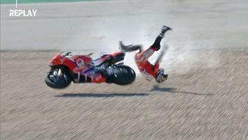 MotoGP: Poważny wypadek w Portugalii (WIDEO)