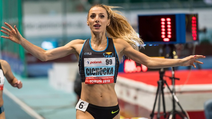 Cichocka: W Berlinie pobiegnę tylko na 800 m