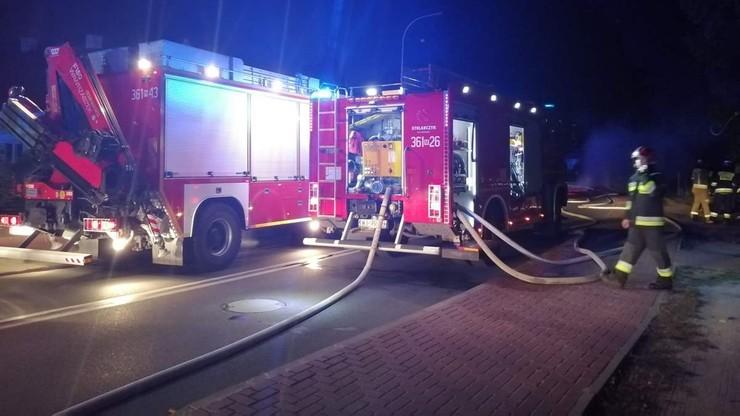 Płock: samochód wjechał w instalację gazową, doszło do wybuchu. Zginęły trzy osoby