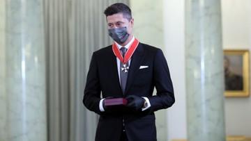 Lewandowski odznaczony przez prezydenta