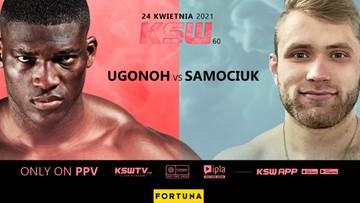 KSW 60: Zwycięzca turnieju walk na gołe pięści nowym rywalem Ugonoha