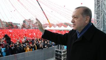 """""""Kiedy nazywa się ich nazistami, robią się nerwowi"""". Erdogan znów oskarża Niemcy"""