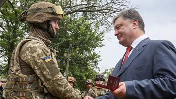 Poroszenko: chcemy oprzeć się na pokojowym ramieniu ONZ